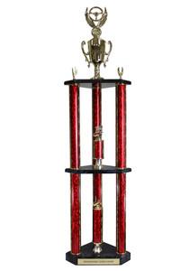 Double 3 Post Trophy