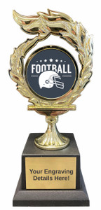 Football Flame Trophy
