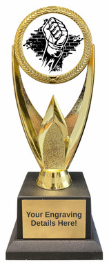 Martial Arts Victory Trophy