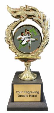 Martial Arts Flame Trophy
