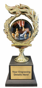 Chess Flame Trophy