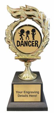 Dance Flame Trophy