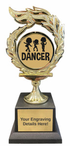 Dance Flame Trophy