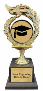 Graduation Flame Trophy