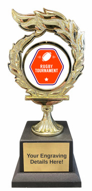 Rugby Flame Trophy
