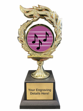 MusicFlame Trophy