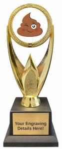 Poop Emoji Victory Trophy