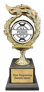 Poker Flame Trophy