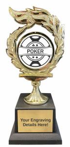 Poker Flame Trophy