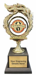 Cornhole Flame Trophy