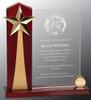 Vertical Rising Star Acrylic Award