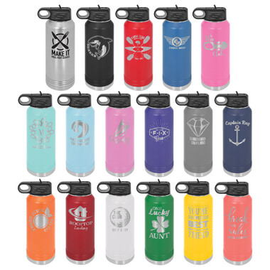32oz Stainless Steel Water Bottle