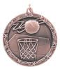 Basketball Shooting Star Medal