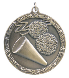 Cheerleading Shooting Star Medal