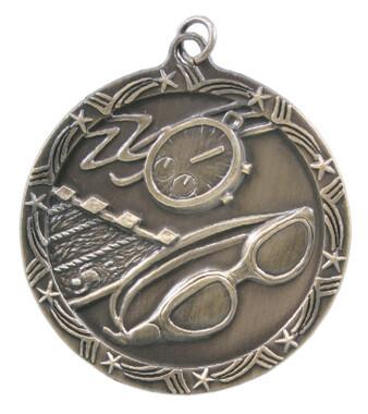 Swimming Shooting Star Medal