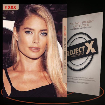 Doutzen Kroes [ # 231-UNC ] PROJECT X Numbered cards / Limited Edition