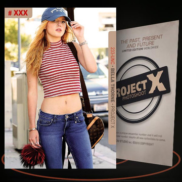 Bella Thorne [ # 233-UNC ] PROJECT X Numbered cards / Limited Edition
