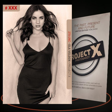 Ela Velden [ # 278-UNC ] PROJECT X Numbered cards / Limited Edition