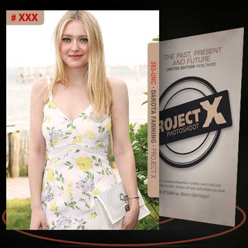 Dakota Fanning [ # 383-UNC ] PROJECT X Numbered cards / Limited Edition