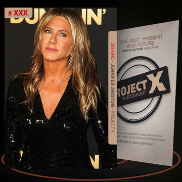Jennifer Aniston [ # 389-UNC ] PROJECT X Numbered cards / Limited Edition