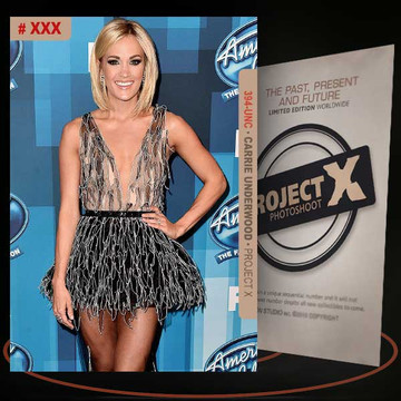 Carrie Underwood [ # 394-UNC ] PROJECT X Numbered cards / Limited Edition