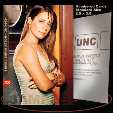 Holly Marie Combs [ # 424-UNC ] Numbered and Limited / Size 2.5 x 3.5