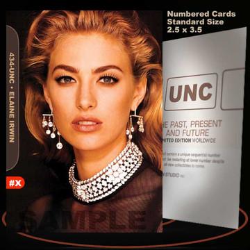 Elaine Irwin [ # 434-UNC ] Numbered and Limited / Size 2.5 x 3.5