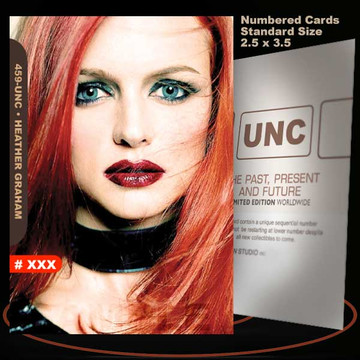 Heather Graham [ # 459-UNC ] Numbered and Limited / Size 2.5 x 3.5