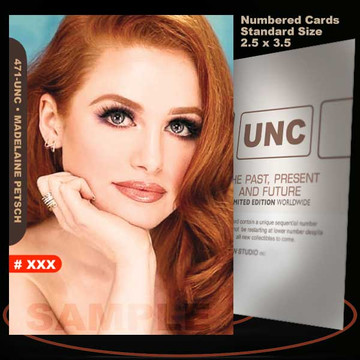 Madelaine Petsch [ # 471-UNC ] Numbered and Limited / Size 2.5 x 3.5