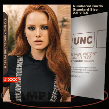 Madelaine Petsch [ # 473-UNC ] Numbered and Limited / Size 2.5 x 3.5