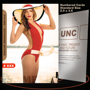 Katharine McPhee [ # 510-UNC ] Numbered and Limited / Size 2.5 x 3.5