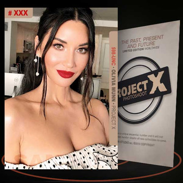 Olivia Munn [ # 598-UNC ] PROJECT X Numbered cards / Limited Edition