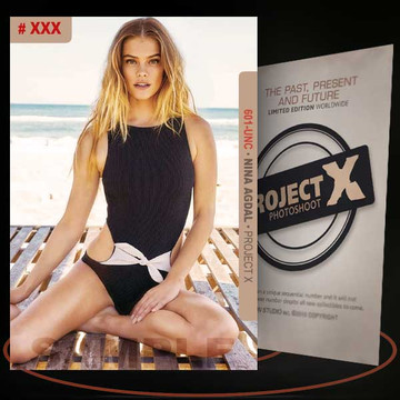 Nina Agdal [ # 601-UNC ] PROJECT X Numbered cards / Limited Edition