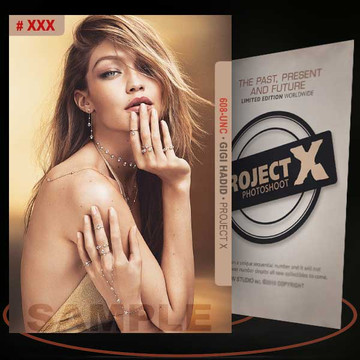 Gigi Hadid [ # 608-UNC ] PROJECT X Numbered cards / Limited Edition