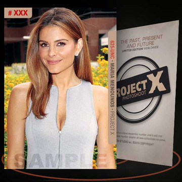 Maria Menounos [ # 625-UNC ] PROJECT X Numbered cards / Limited Edition