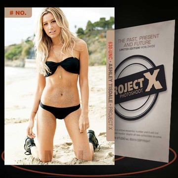 Ashley Tisdale [ # 630-UNC ] PROJECT X Numbered cards / Limited Edition