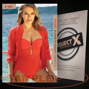 Elizabeth Hurley [ # 635-UNC ] PROJECT X Numbered cards / Limited Edition