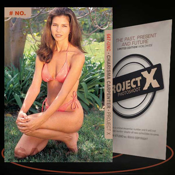 Charisma Carpenter [ # 647-UNC ] PROJECT X Numbered cards / Limited Edition