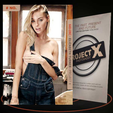 Elizabeth Turner [ # 648-UNC ] PROJECT X Numbered cards / Limited Edition