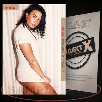 Demi Lovato [ # 655-UNC ] PROJECT X Numbered cards / Limited Edition