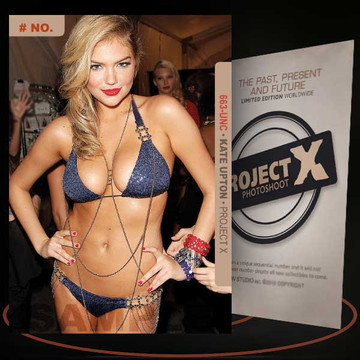 Kate Upton [ # 663-UNC ] PROJECT X Numbered cards / Limited Edition