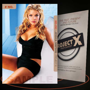 Jessica Simpson [ # 665-UNC ] PROJECT X Numbered cards / Limited Edition