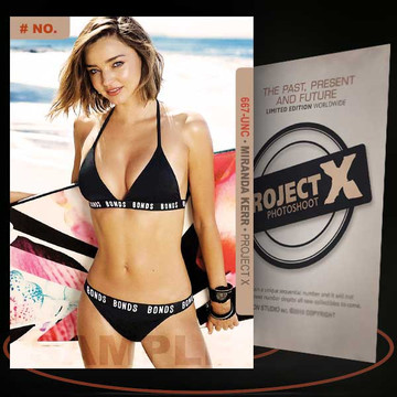 Miranda Kerr [ # 667-UNC ] PROJECT X Numbered cards / Limited Edition