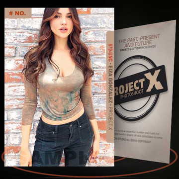 Eiza Gonzalez [ # 670-UNC ] PROJECT X Numbered cards / Limited Edition