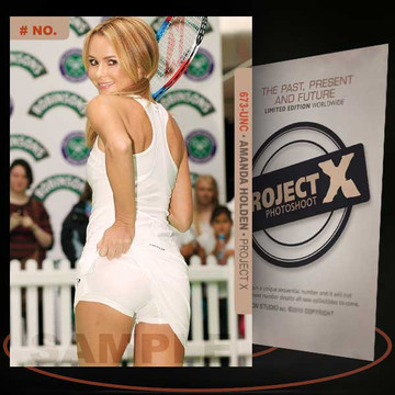 Amanda Holden [ # 673-UNC ] PROJECT X Numbered cards / Limited Edition