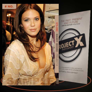 Mandy Moore [ # 675-UNC ] PROJECT X Numbered cards / Limited Edition