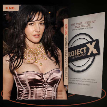 Monica Bellucci [ # 679-UNC ] PROJECT X Numbered cards / Limited Edition