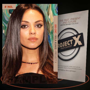 Mila Kunis [ # 680-UNC ] PROJECT X Numbered cards / Limited Edition