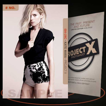 Kate Mara [ # 684-UNC ] PROJECT X Numbered cards / Limited Edition