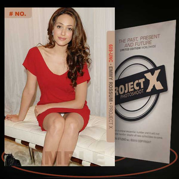 Emmy Rossum [ # 689-UNC ] PROJECT X Numbered cards / Limited Edition